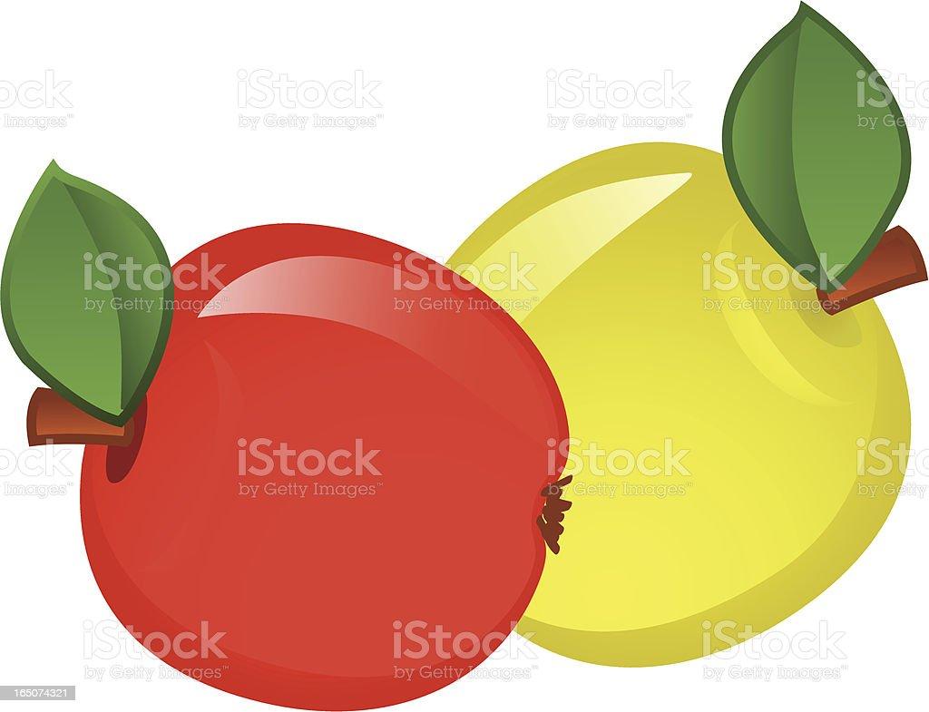 Apples . royalty-free stock vector art