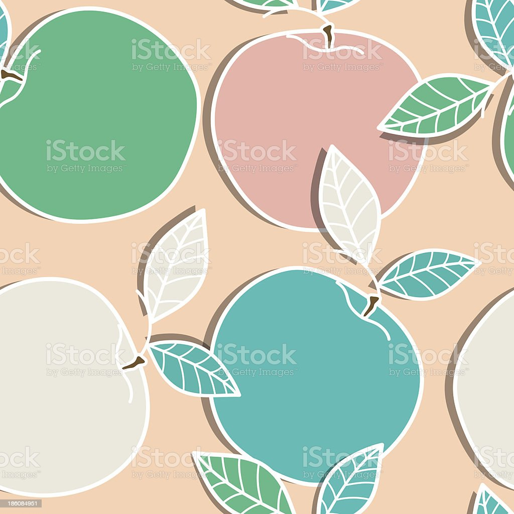 Apples royalty-free stock vector art