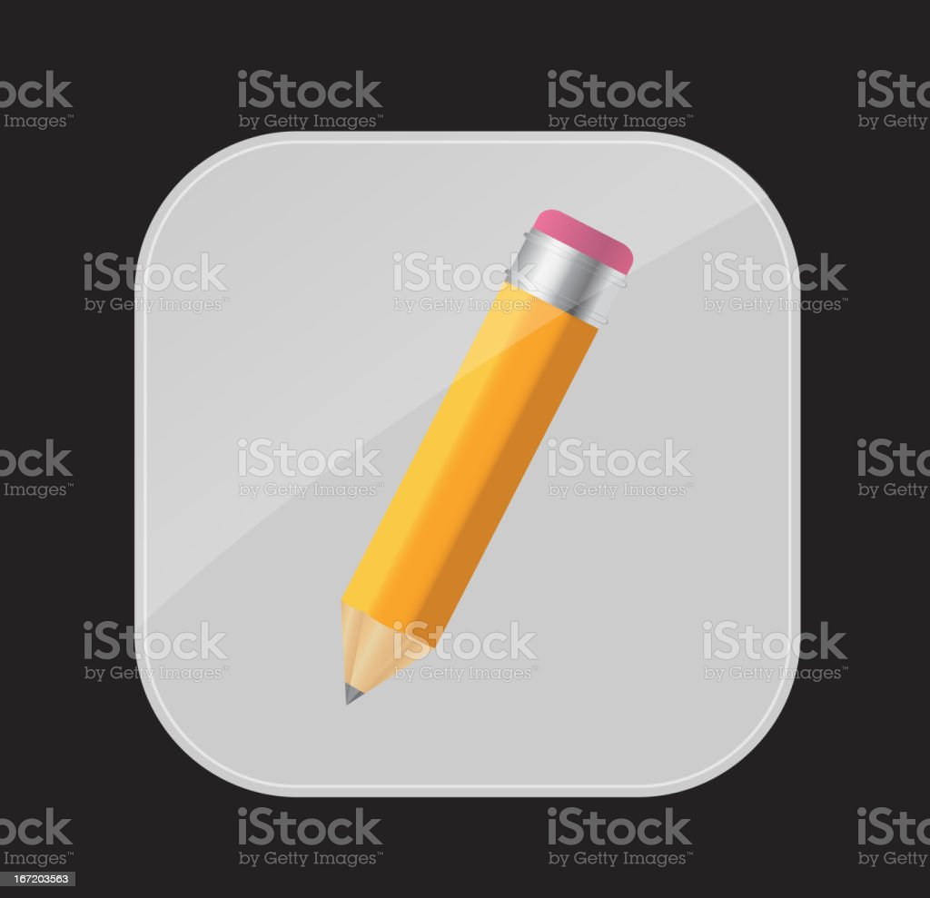 Apps icon vector illustration royalty-free stock vector art