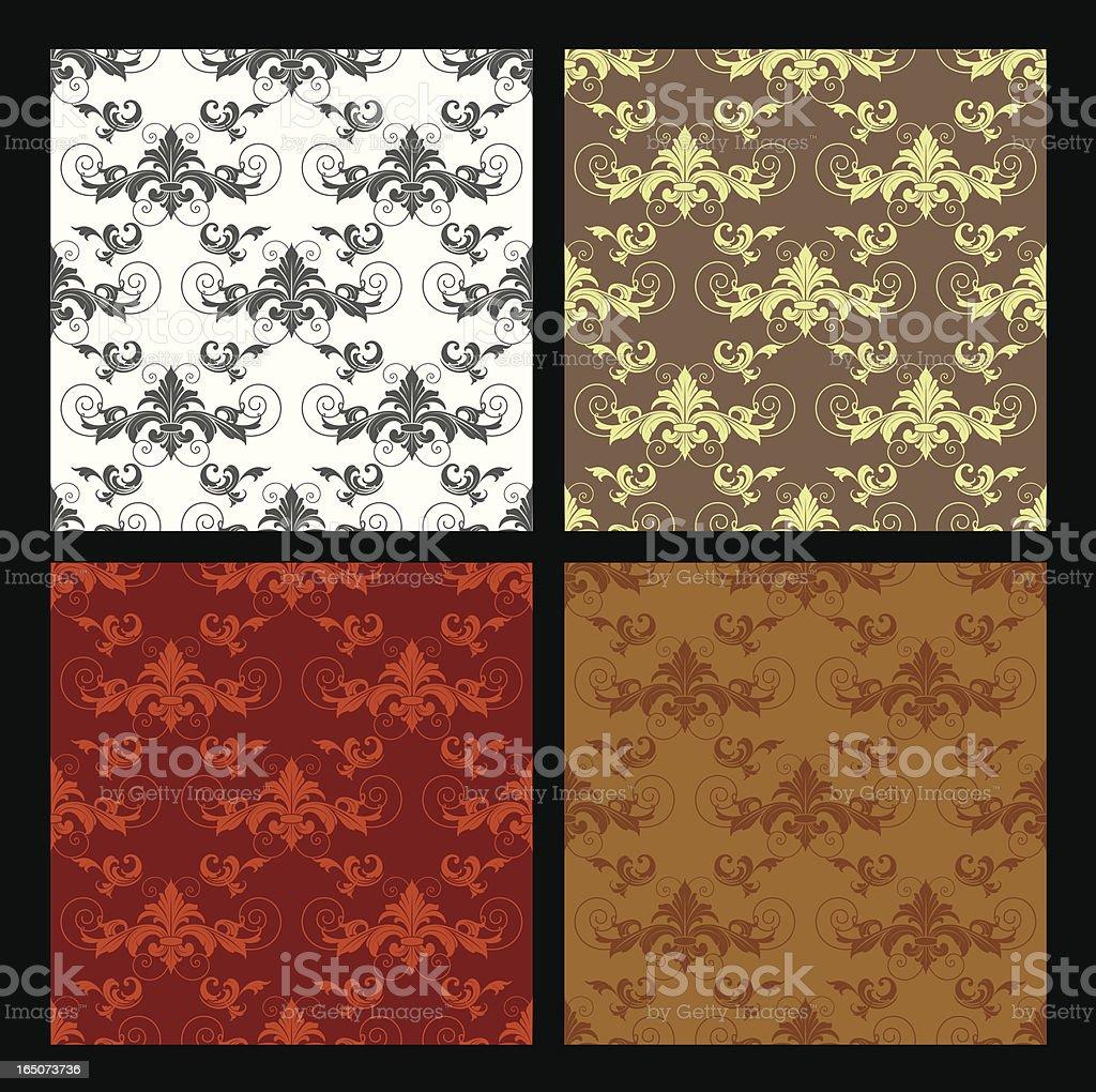 Arabesque Background Wallpaper royalty-free stock vector art
