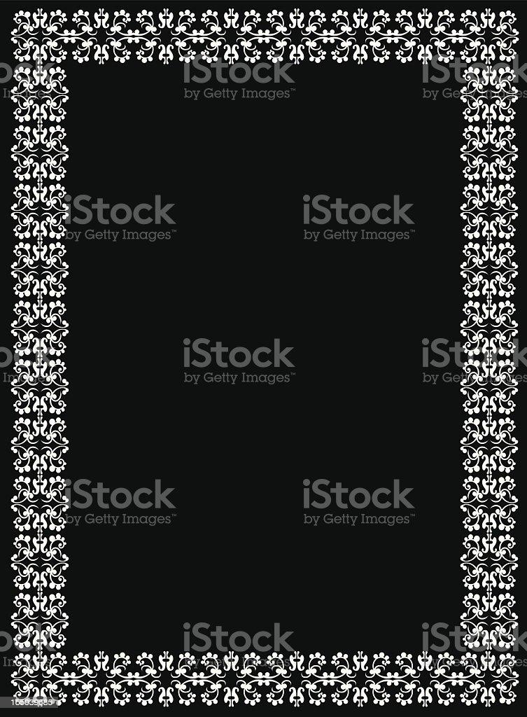 Arabesque border royalty-free stock vector art