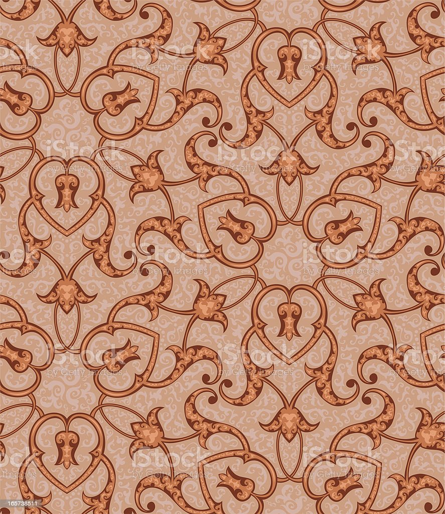 Arabesque Pattern vector art illustration