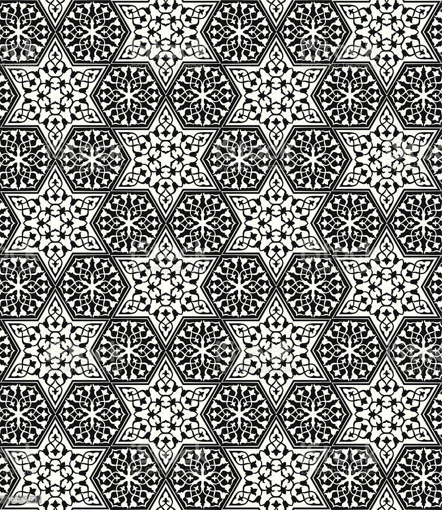 Arabesque Pattern royalty-free stock vector art