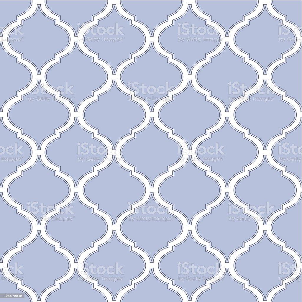 arabesque tile vector art illustration