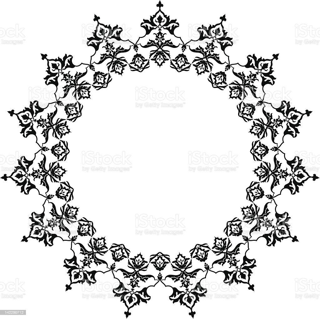 arabesque royalty-free stock vector art