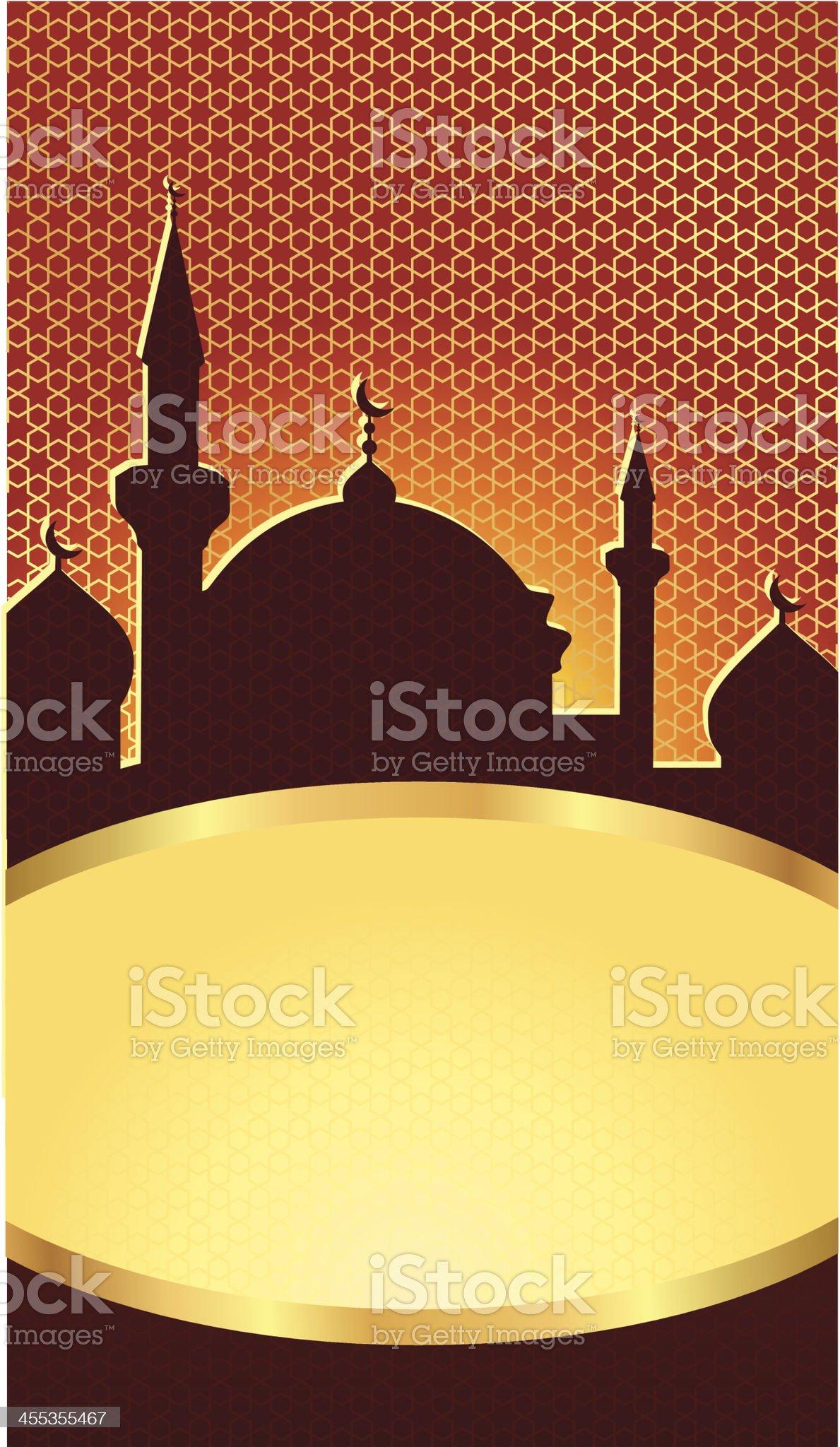 Arabian banner royalty-free stock vector art