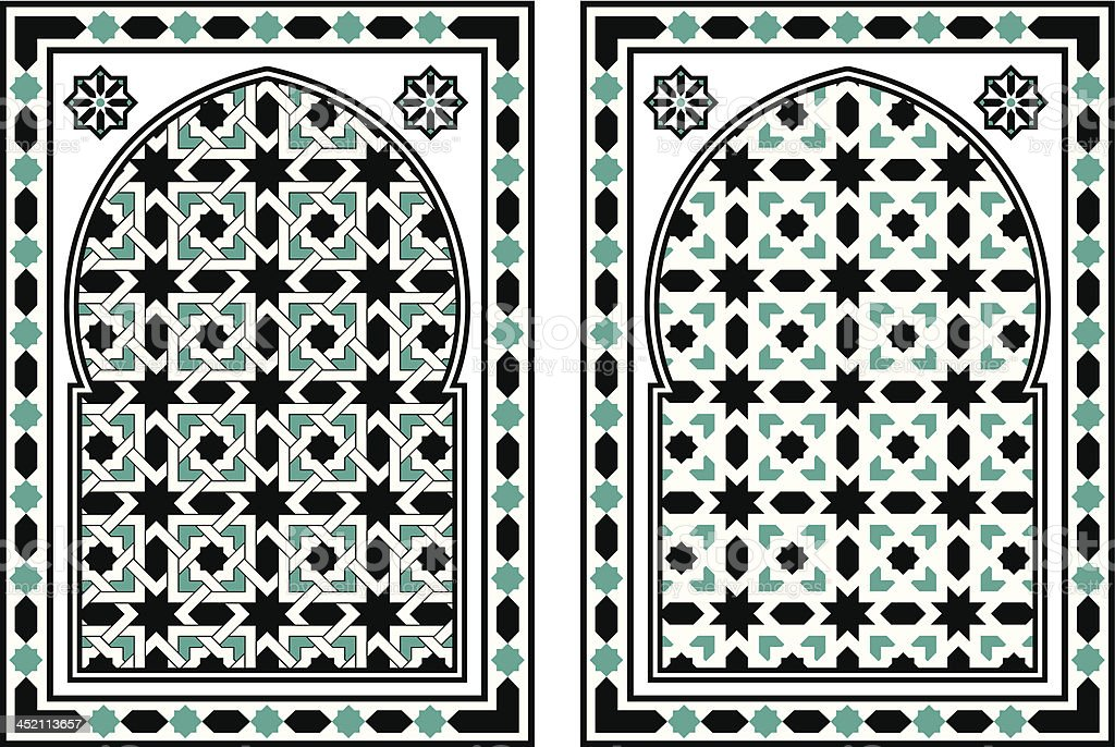 Arabic Mosaic royalty-free stock vector art