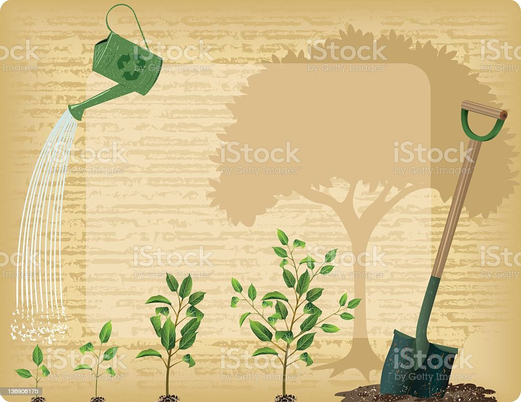 Arbor Day Background royalty-free stock vector art