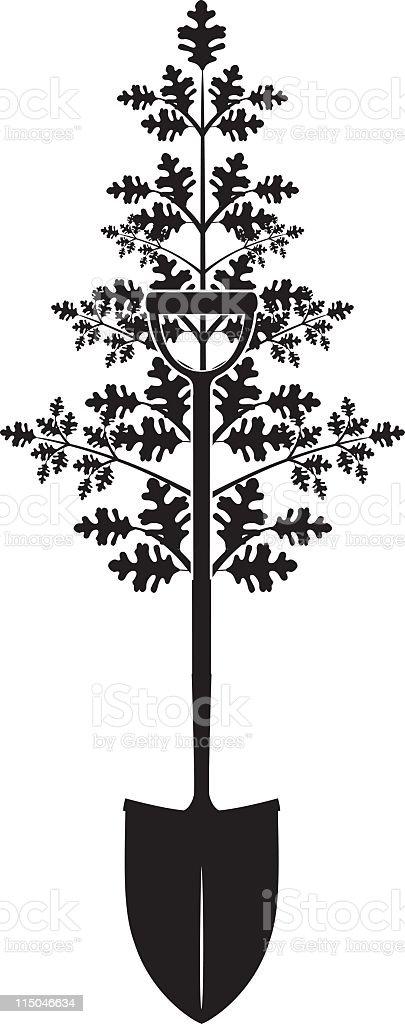 Arbor Day royalty-free stock vector art