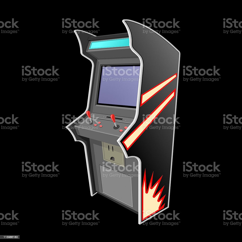 Arcade Machine royalty-free stock vector art