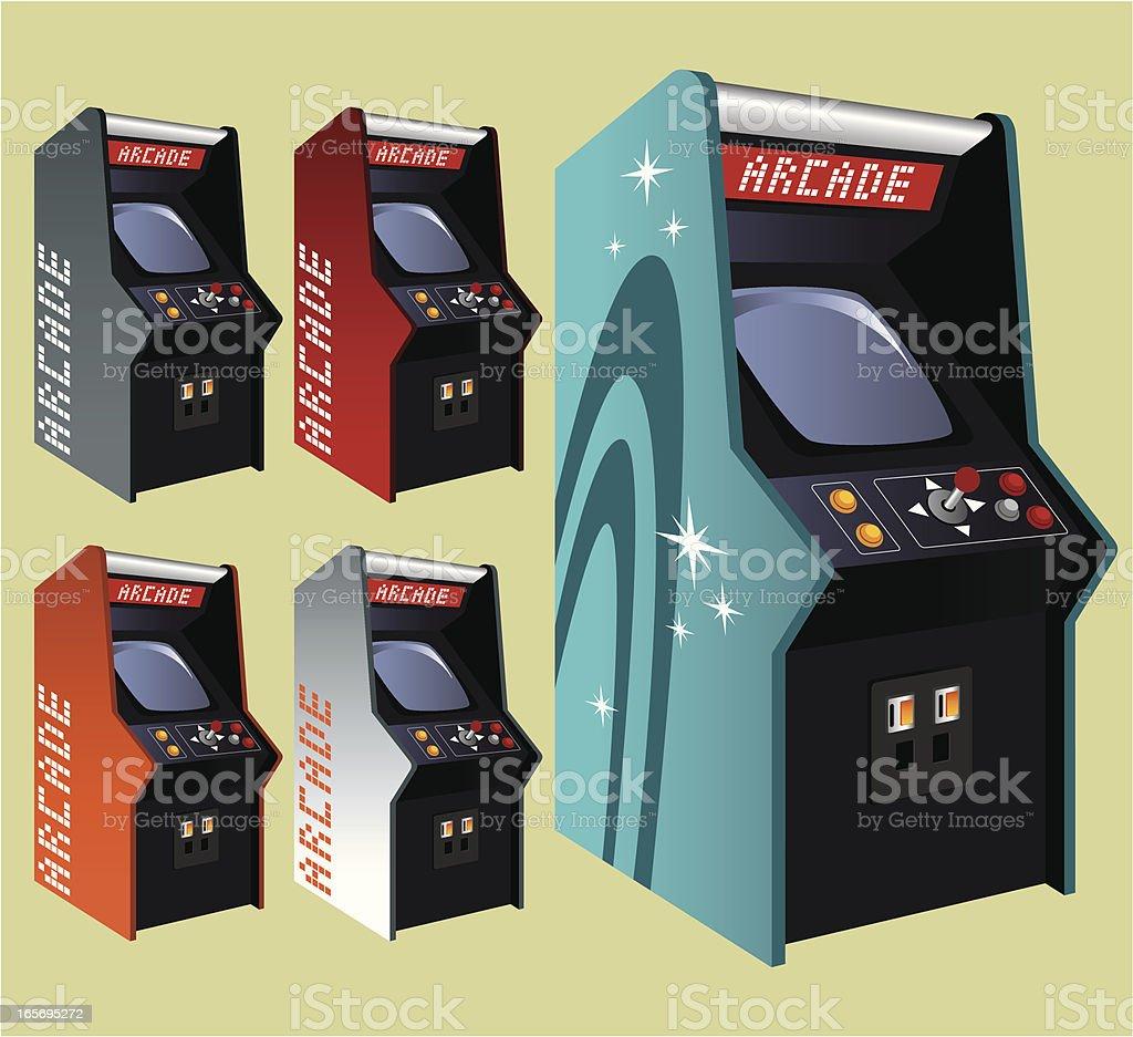 arcade machine vector