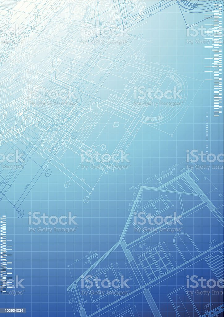 Architectural background royalty-free stock vector art