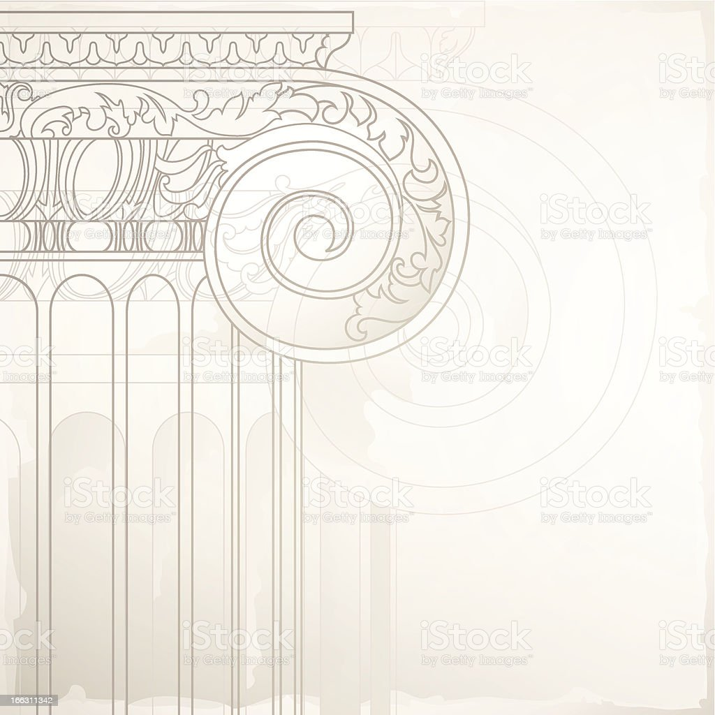 architectural background vector art illustration
