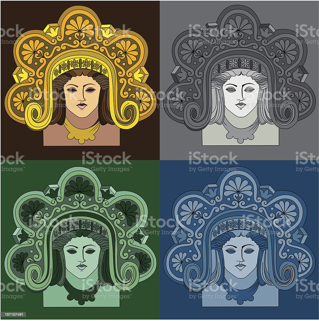 Architectural detail royalty-free stock vector art
