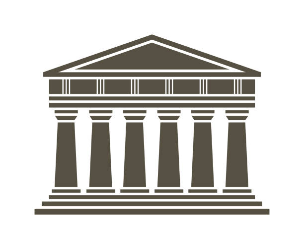 Roman Temple Clip Art, Vector Images & Illustrations - iStock