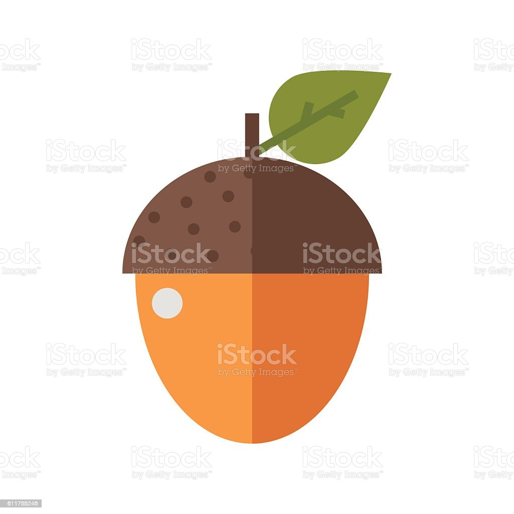 Arcon Nut Icon vector art illustration