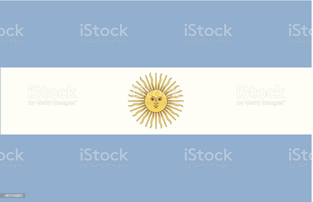Argentina usa vector vector art illustration