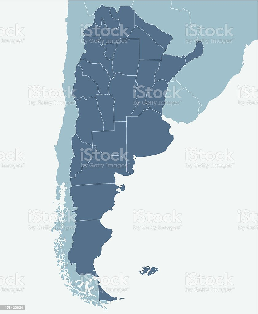 Argentina royalty-free stock vector art
