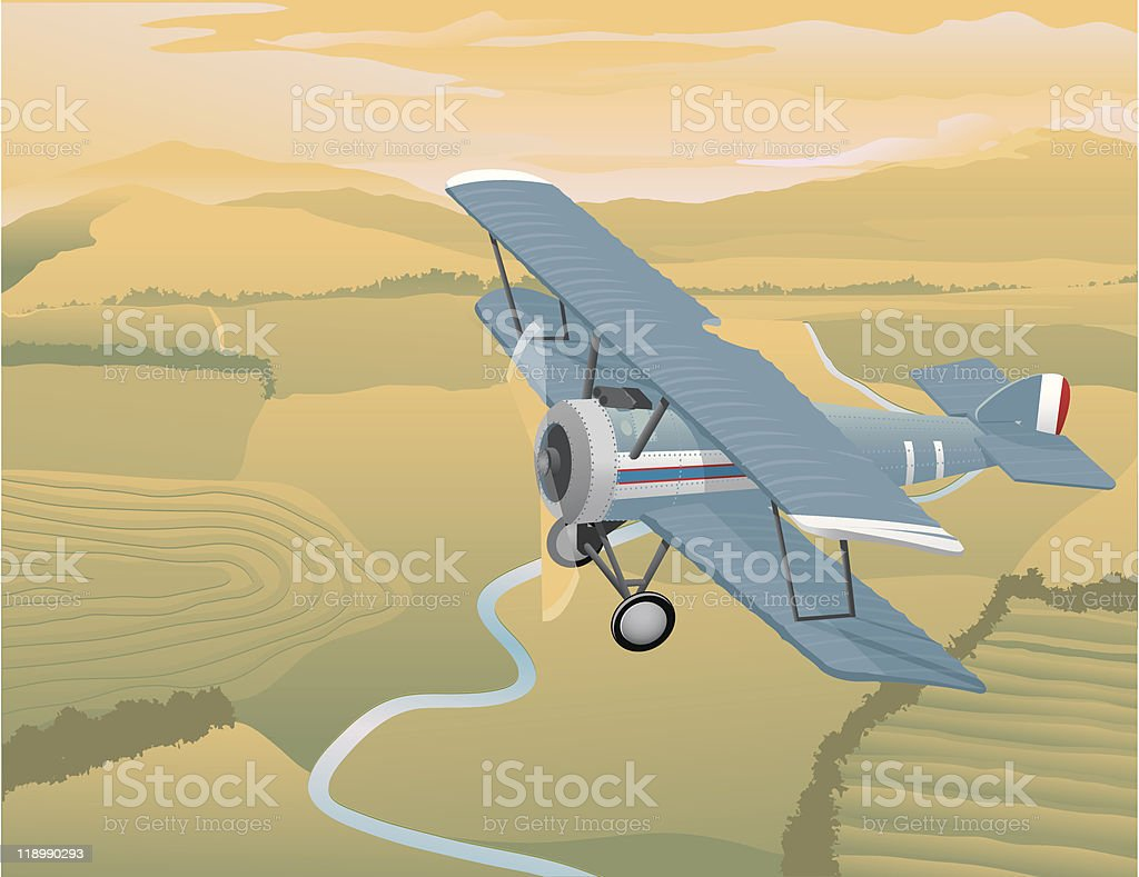 Arial View royalty-free stock vector art