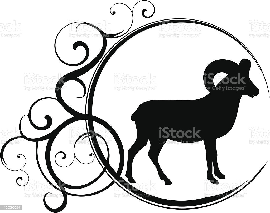 Aries royalty-free stock vector art