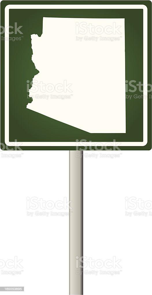 Arizona Sign royalty-free stock vector art