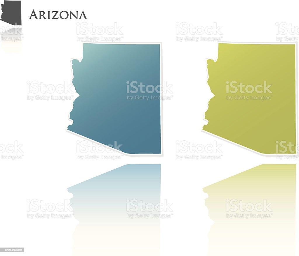 Arizona State Graphic royalty-free stock vector art