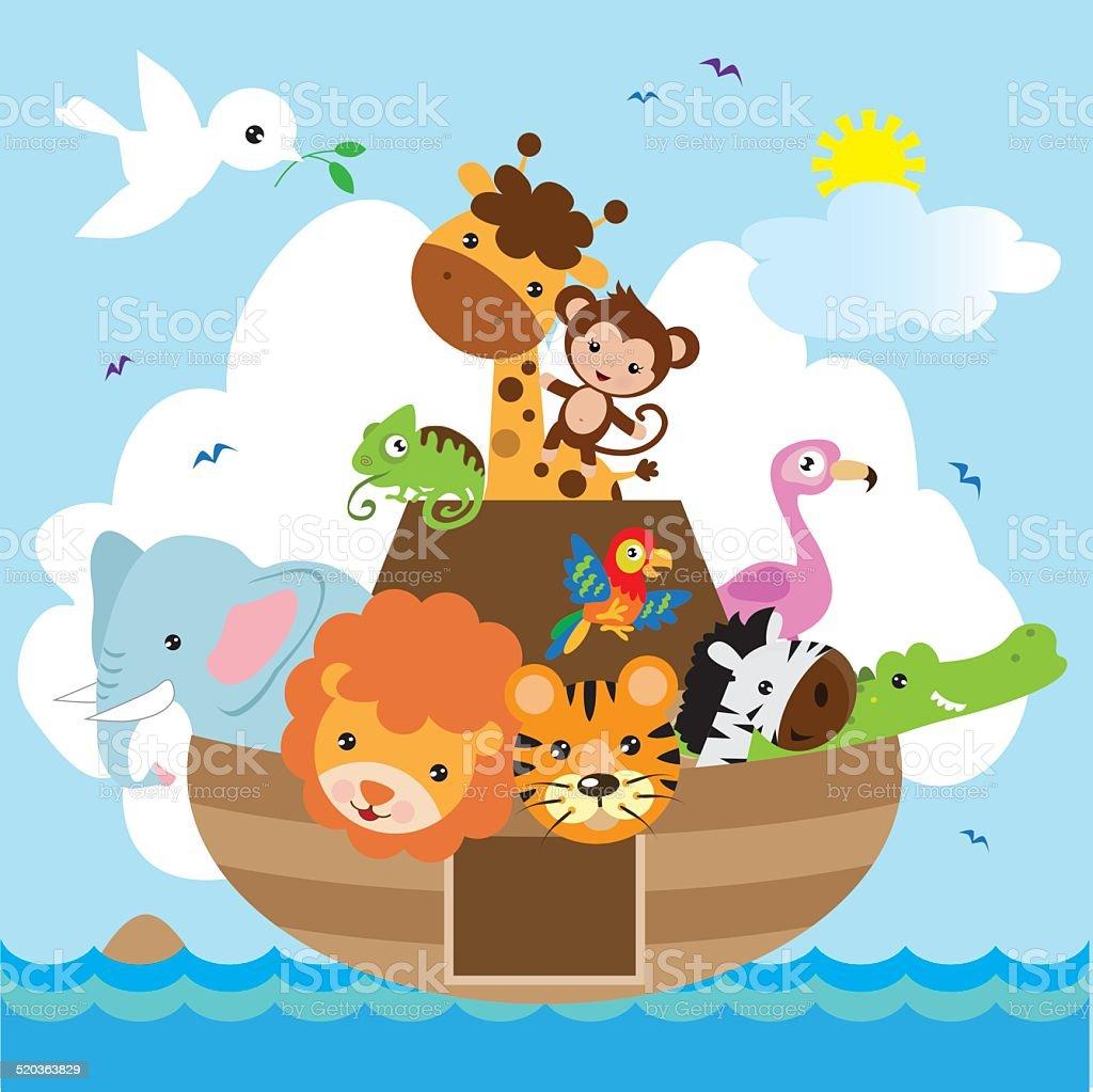 Ark vector illustration vector art illustration
