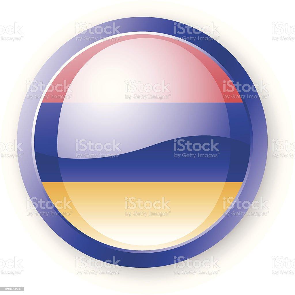 Armenia Flag Icon royalty-free stock vector art