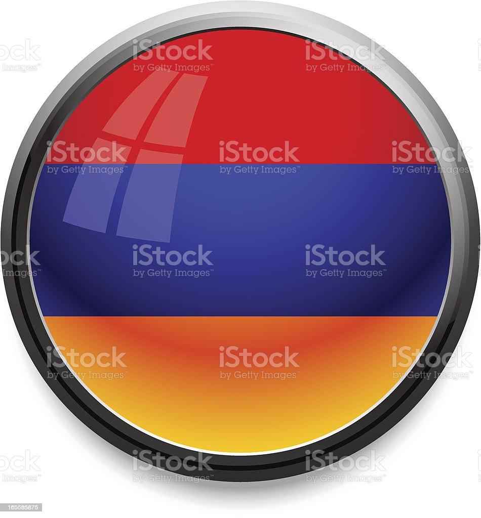 Armenia - flag icon royalty-free stock vector art