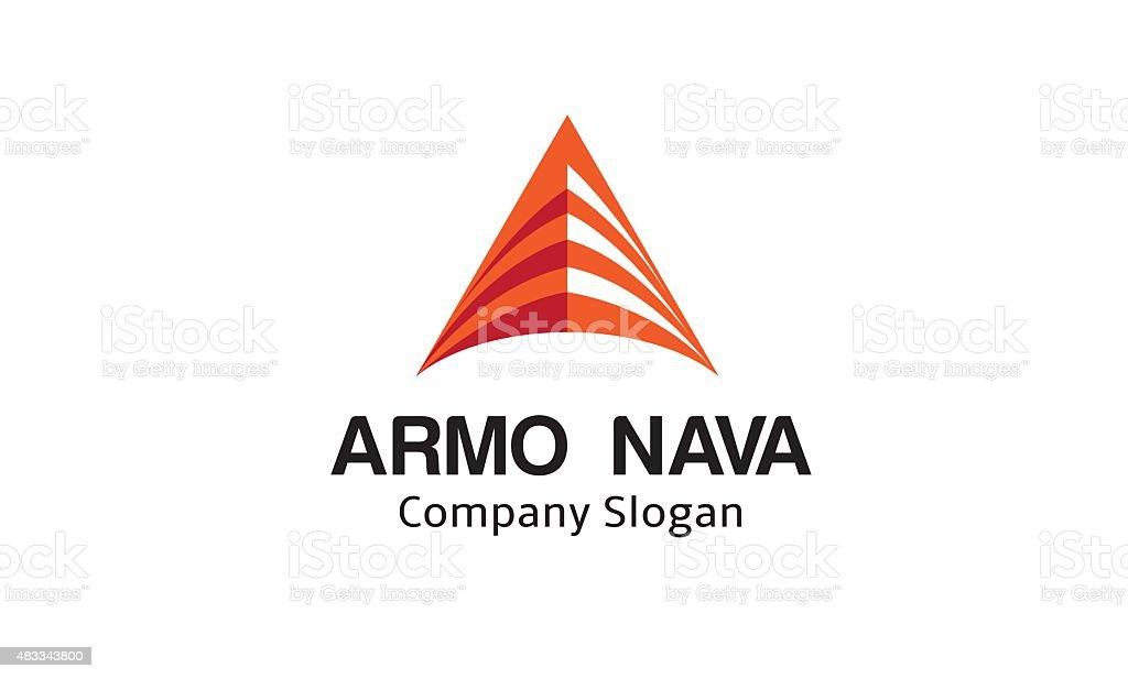 Armo Nava Logo vector art illustration