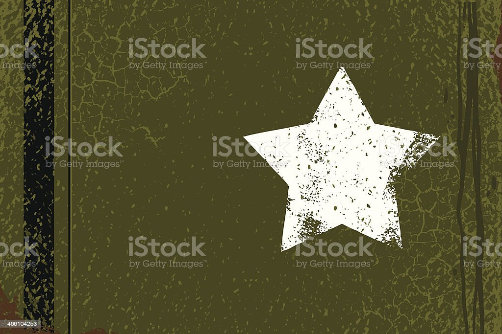 Army Background vector art illustration