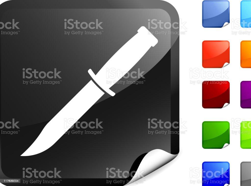 army knife internet icon vector art illustration