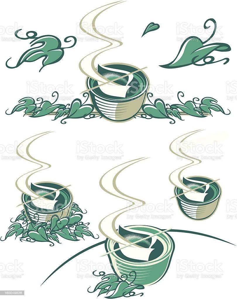 Aromatherapy royalty-free stock vector art