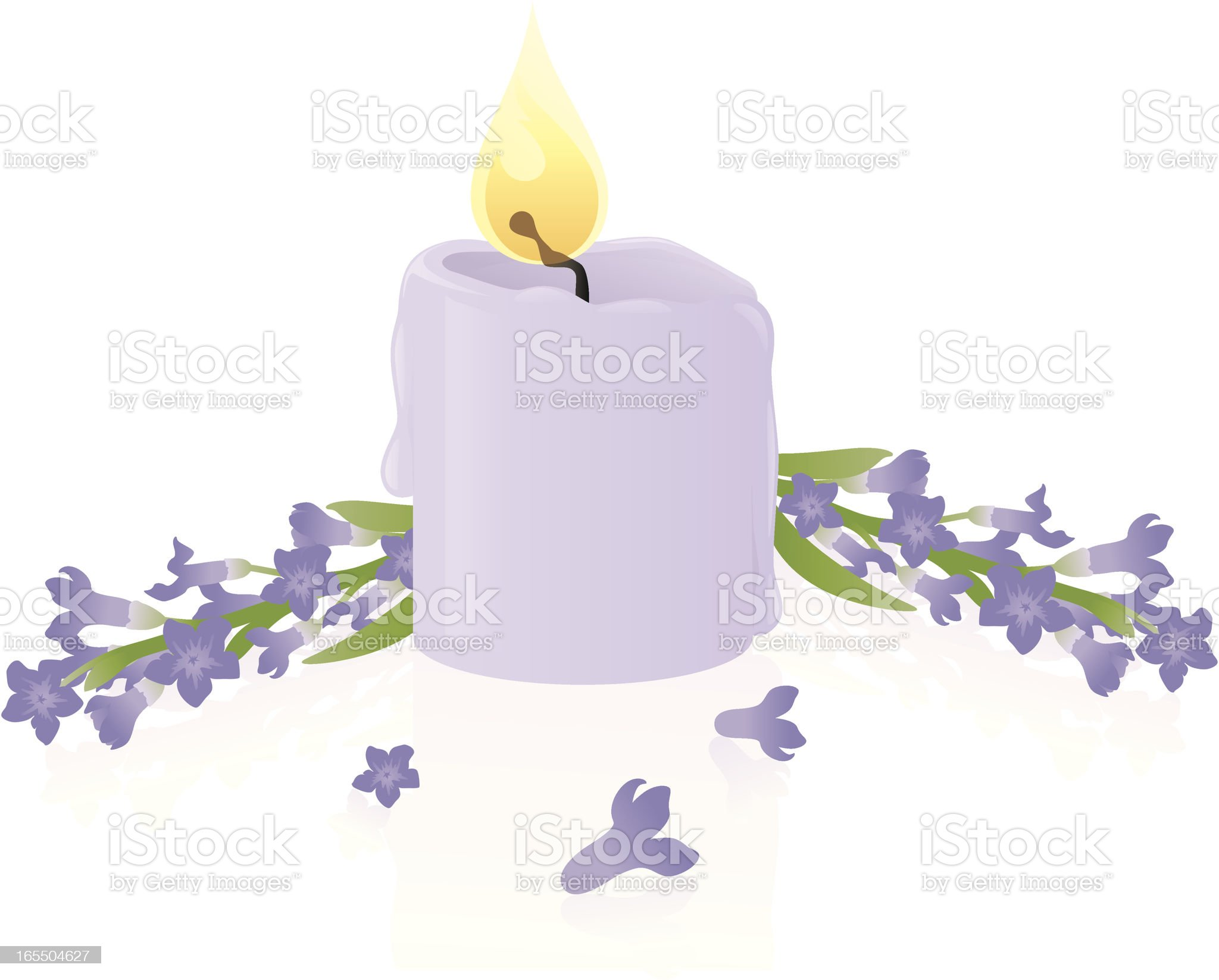 Aromatherapy:Lavender - incl. jpeg royalty-free stock vector art