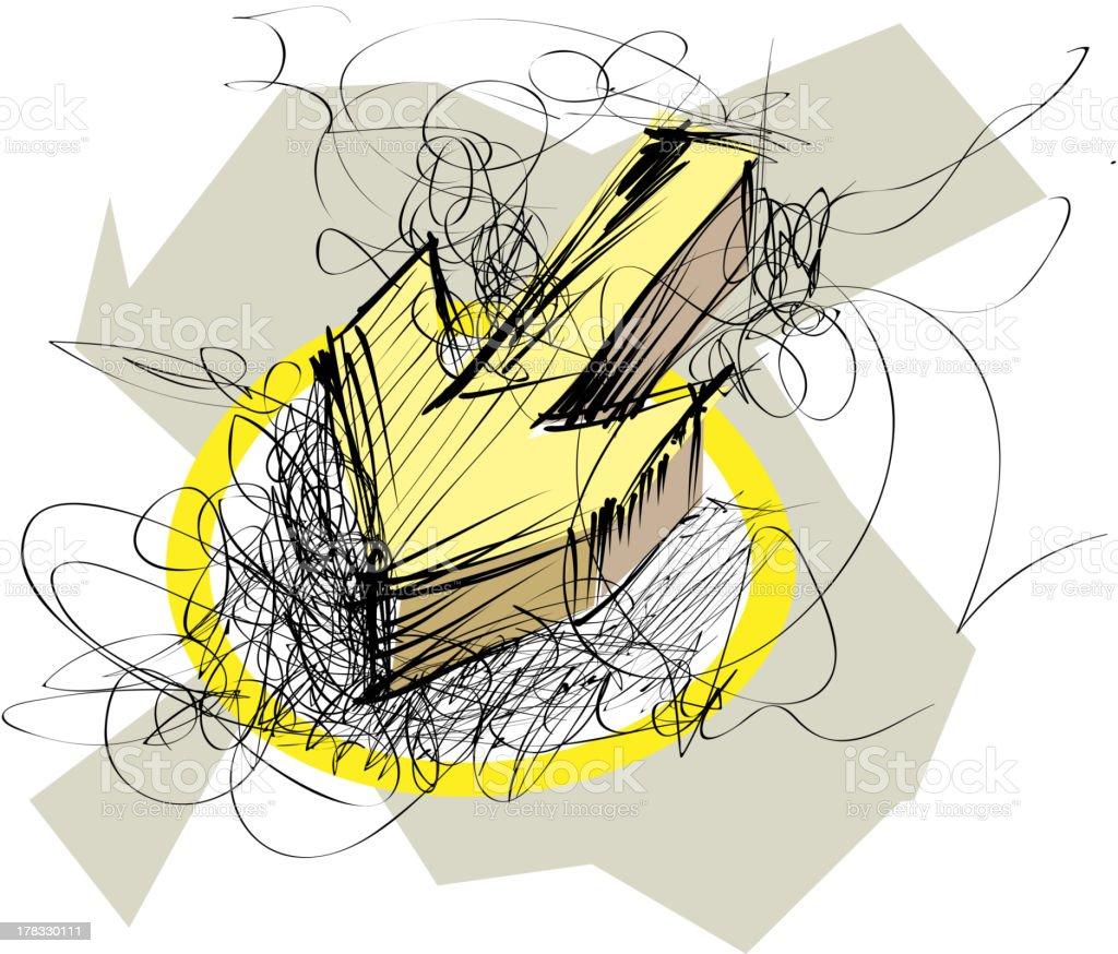 Arrow Abstract royalty-free stock vector art