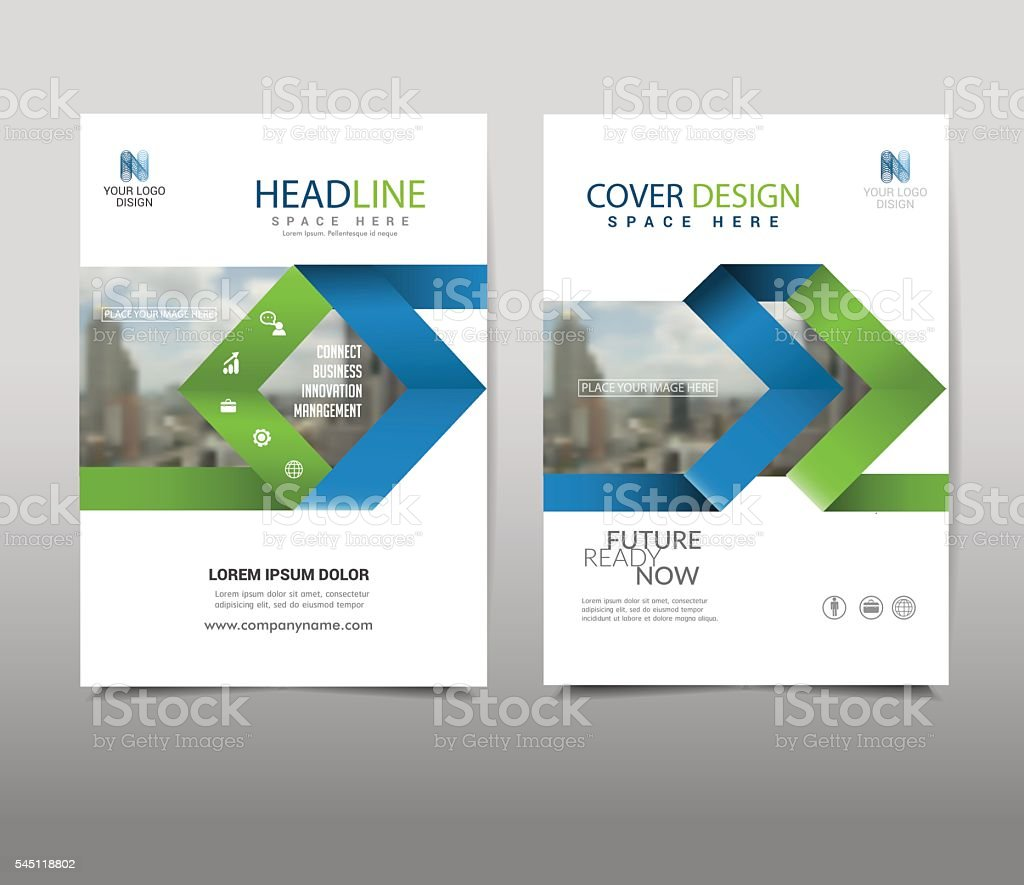 Arrow Cover design on background.booklet in A4 with Vector Illustration. royalty-free stock vector art