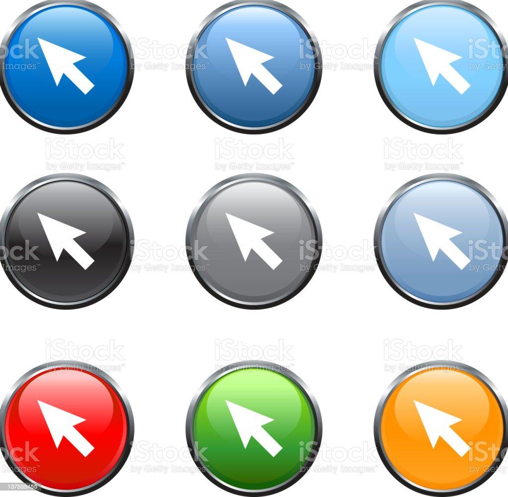 arrow head royalty free vector icon set royalty free vector royalty-free stock vector art