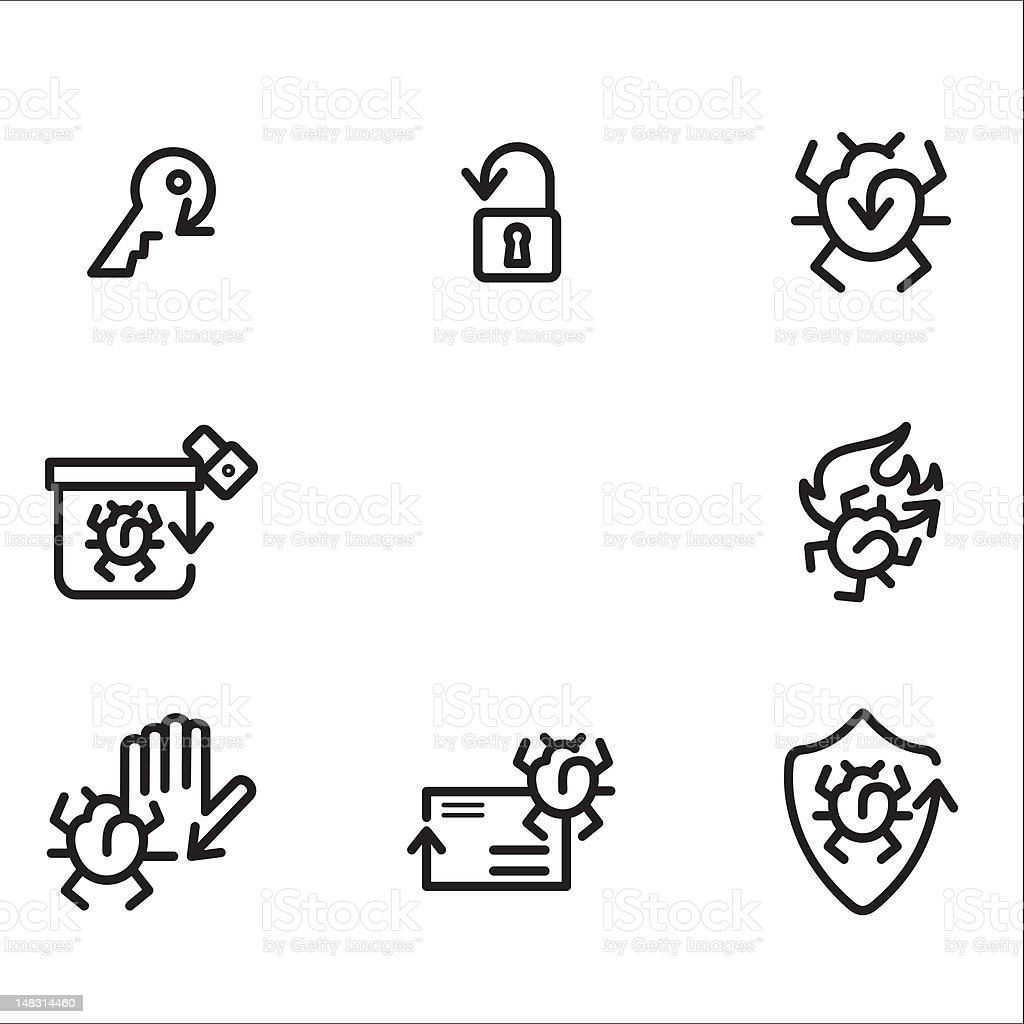 Arrow Icons Series royalty-free stock vector art