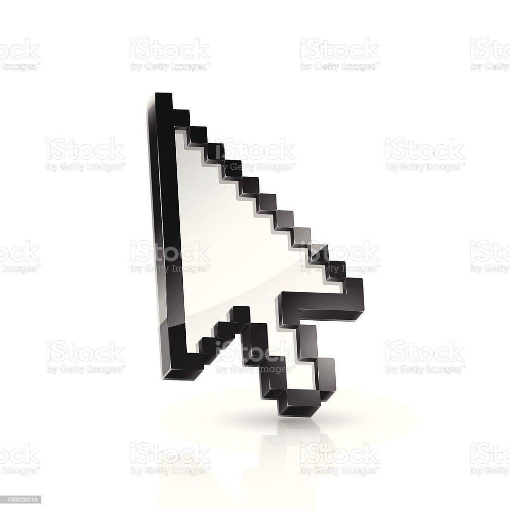 Arrow pointer royalty-free stock vector art