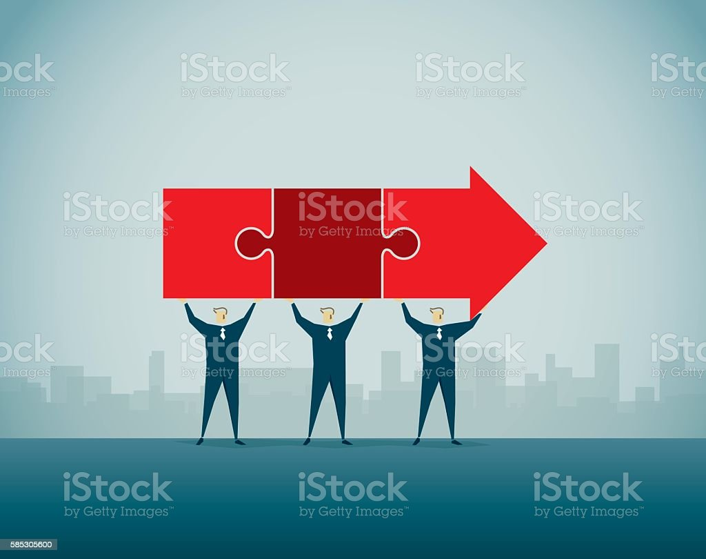 Arrow Sign vector art illustration