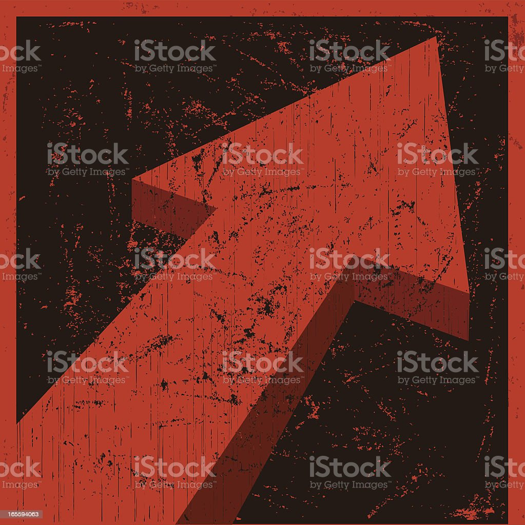Arrow royalty-free stock vector art