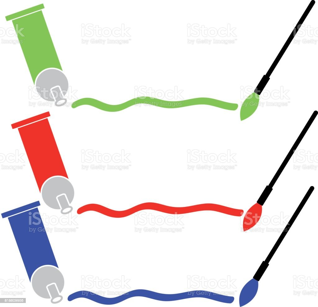 Art appliences. vector illustration vector art illustration