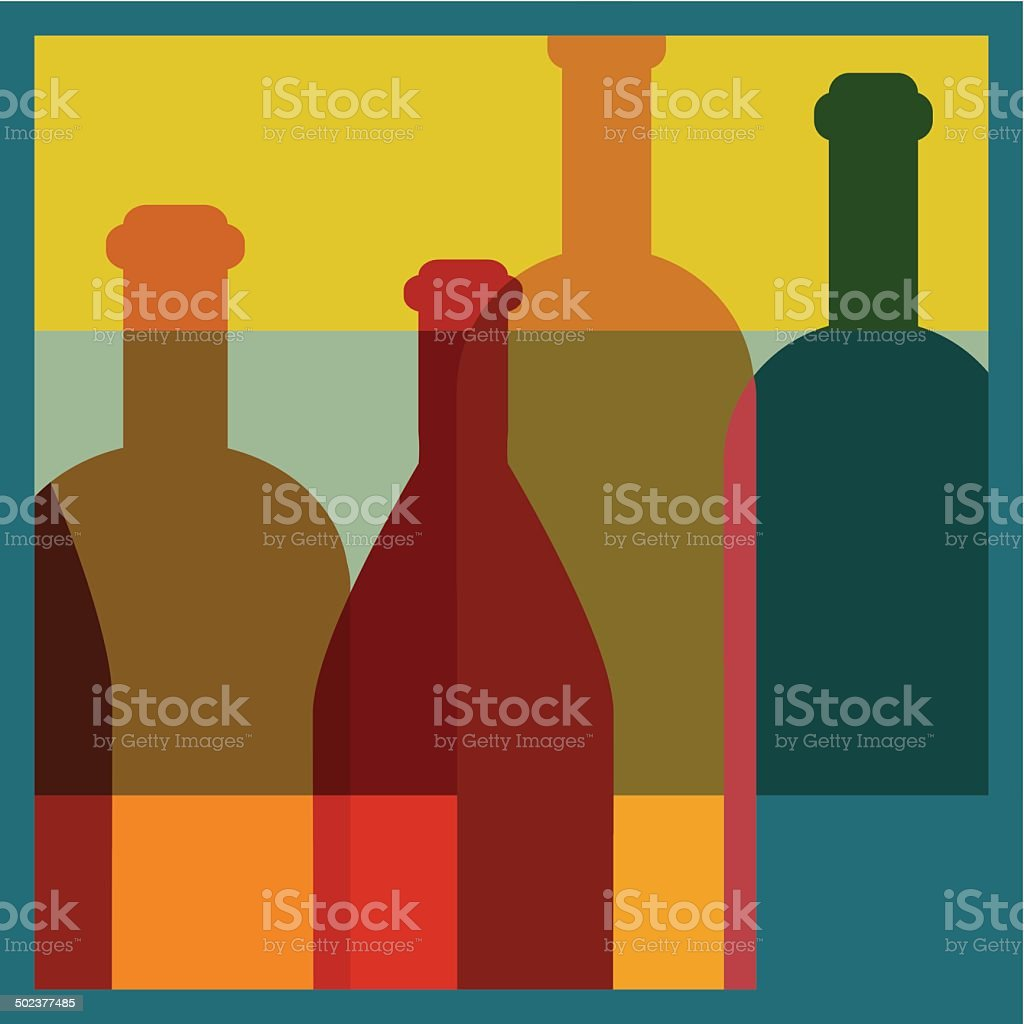 Art background. Wine restaurant concept. Vector. royalty-free stock vector art