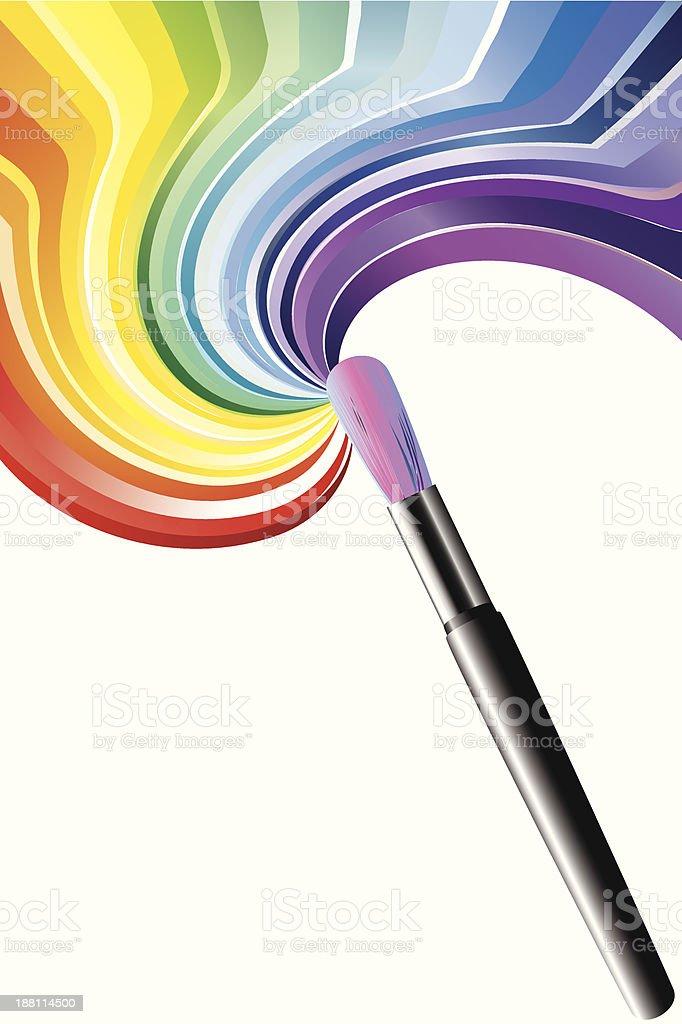 Art brush royalty-free stock vector art