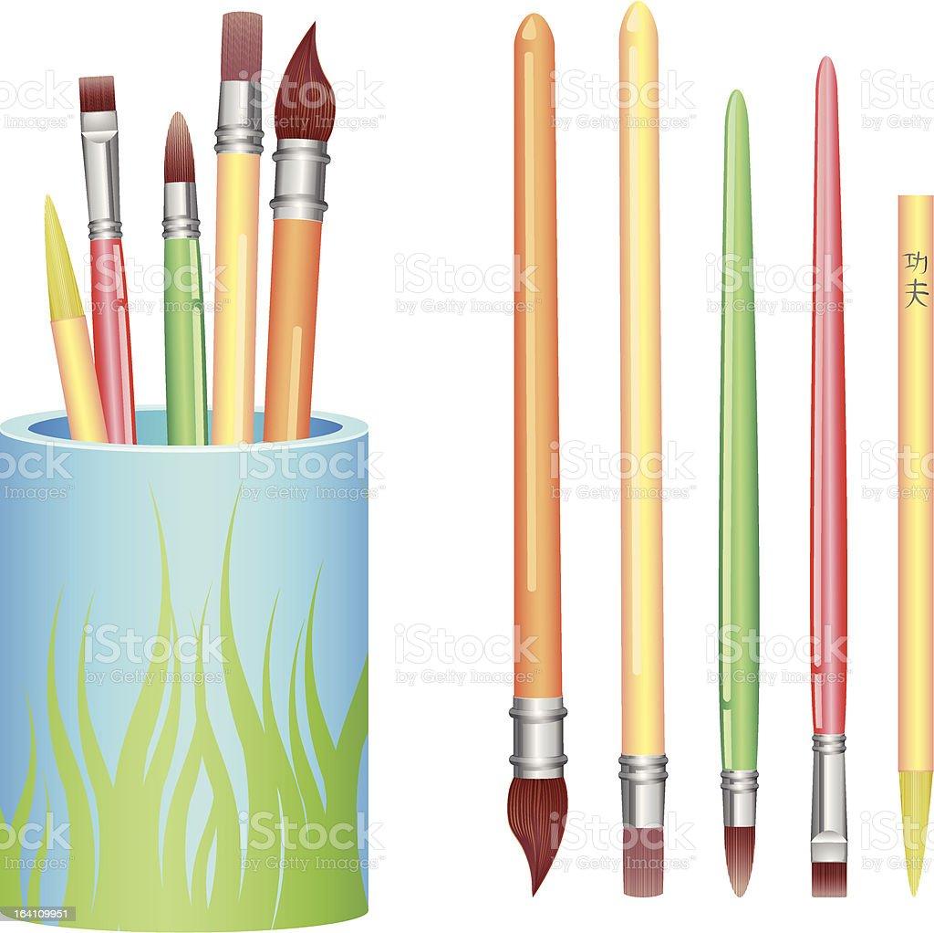 Art Brush Vector royalty-free stock vector art