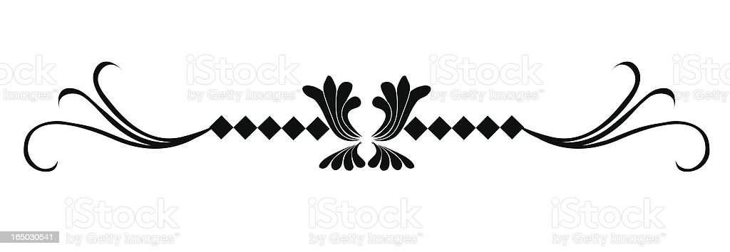 Art Deco Accent ( Vector ) royalty-free stock vector art