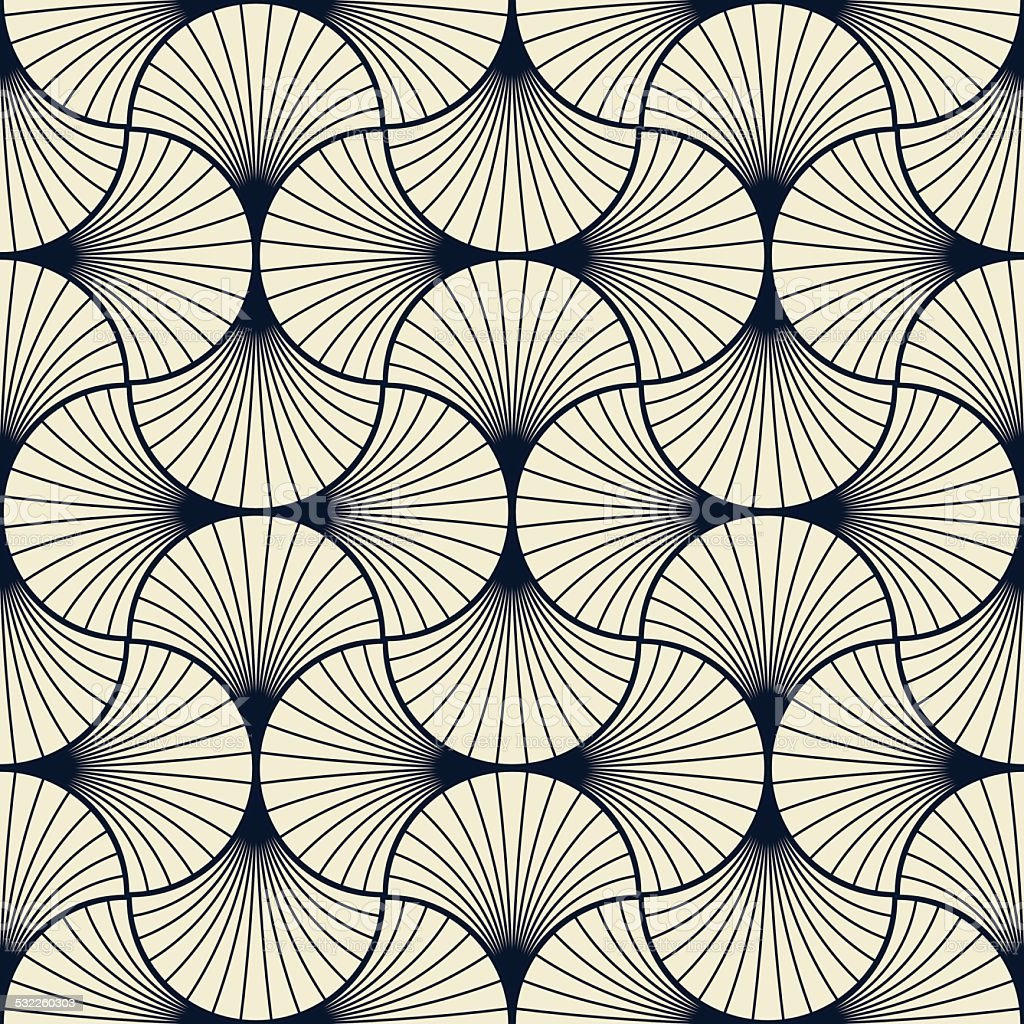 art deco pattern vector art illustration