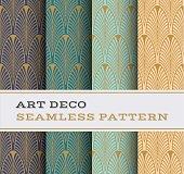 Art Deco seamless pattern 01