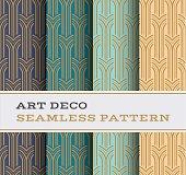 Art Deco seamless pattern 05