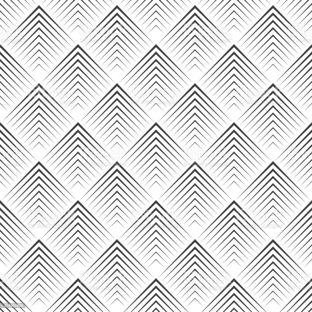 Art deco seamless pattern vector art illustration